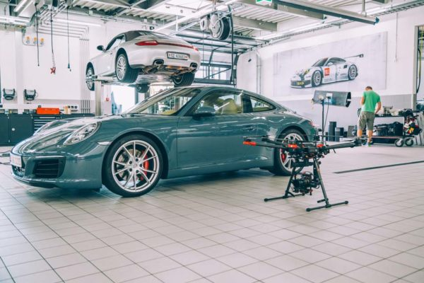 Porsche Mission making of